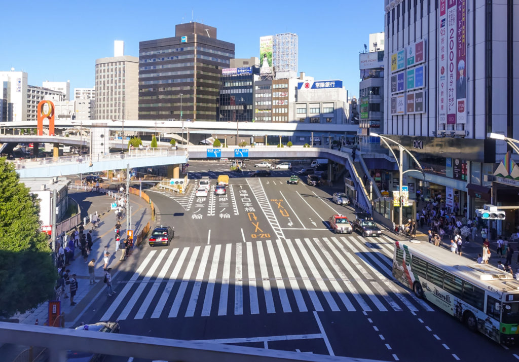 アプリで上野駅周辺の喫煙所をチェック