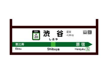 渋谷駅近くにはいろいろな所に喫煙所があります
