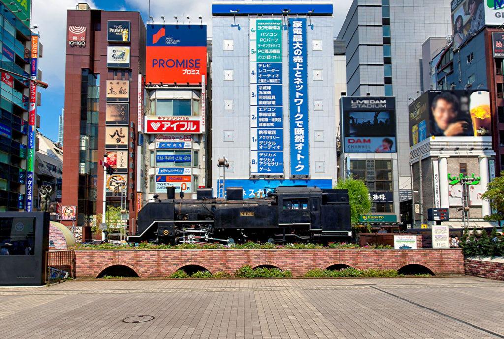 新橋駅で利用している喫煙所
