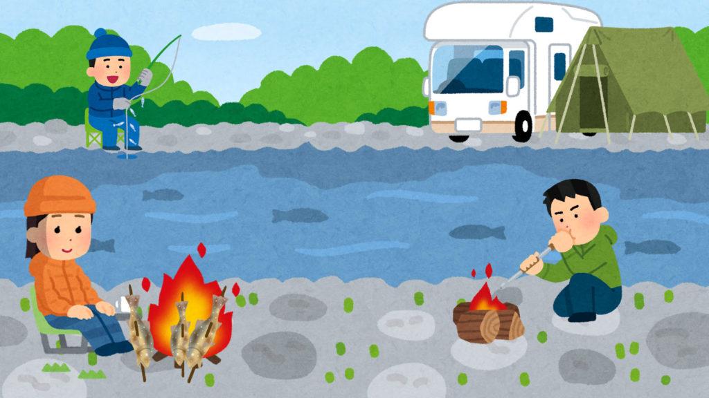 冬こそ行くべきキャンプ場と案内役の「釣りスポット情報共有マップくん」