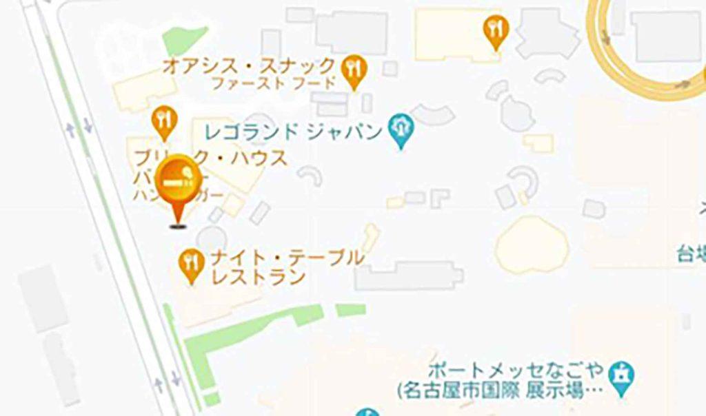 レゴランドジャパンで唯一ある喫煙所見つけられますか?